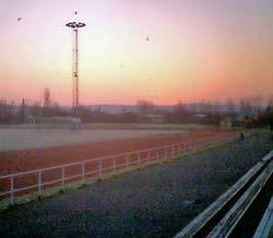 Frostig soluppgång